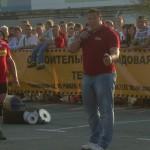 Михаил Кокляев, фото сделано на одном из выступлений Челябинских и Екатеринбургских стронгеров