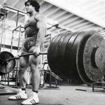 Становая тяга Франко Коломбо. Классический вариант. Разнохват