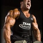 Тренировка трапециевидных мышц. Ну вот только орать не надо! :-)