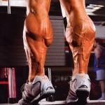 Подъемы на носки стоя. Тренирока мышц голени.