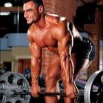 Тяга в наклоне штанги к поясу. Тренировка широчайших мышц спины.