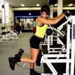 Тренировка мышц задней поверхности бедра. Женский бодибилдинг
