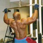 Тяга блока к груди для широчайших мышц
