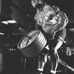 Пол Диллет Paul Dillet тяга Т штанги на широчайшие мышцы спины