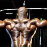 Эрни Тэйлор Ernie Taylor тренировка широчайших мышц спины Тяга блока к груди