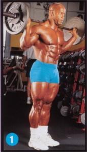 Выпады со штангой - лучшее упражнение для улучшения формы задней и передней поверхности бедра