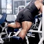 Сгибания ног Бэнч Уоррен Branch Warren Тренировка мышц задней поверхности бедра