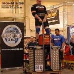 Мартин Вилдауэр Рекорд в Баварской тяге 350 кг на 1 метр