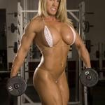 Культуристка Мелисса Деттвиллер Melissa Dettwiller Женский бодибилдинг Как подтянуть грудные мышцы
