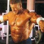 Подъемы рук через стороны с гантелями Дориан Ятс Dorian Yates Тренировка дельтовидных мышц