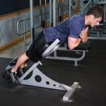 Гиперэкстанзии Тренировка мышц спины