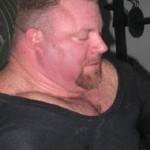 Mike Ruggiera пауэрлифтер с мощной шеей