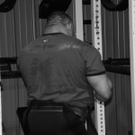 Mike Ruggiera пауэрлифтер с толстой мускулистой шеей
