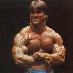 Джефф Кинг Бодибилдер с мускулистой толстой шеей