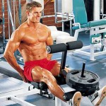 Разгибания ног сидя, тренировка квадрицепсов. Качаем мышцы ног.