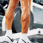 Тренировка мышц голени, качаем голень. Подъемы на носки стоя