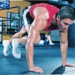 """Упражнения """"скалолаз"""" для тренировки ног."""