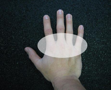 Нагрузка на ладони при стойке на руках