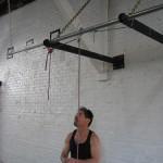 Jack Arnow Джек Арноу, его система блоков для тренировки подтягиваний на одной руке, подтягивания с облегчением