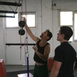 Джэк Арноу и я, интервью, Тренировка подтягиваний на одной руке