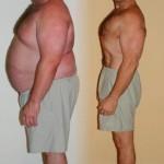 До и после сушки. Сжигание жира