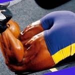 Jay Cutler Джей Катлер, сгибания ног с гантелью, тренировка ног