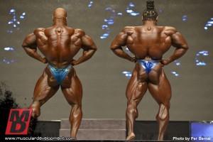 Phil Heath Kai Greene Фил Хит Кай Грин, широчайшие мышцы спины, Мистер Олимпия 2012, бодибилдинг