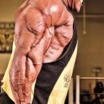 Phil Heath Фил Хит, отжимания на брусьях, тренировка трицепсов и грудных мышц