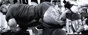 Lee Priest, Ли Прист, сгибания ног лежа, тренировка бицепсов бедер, бодибилдинг