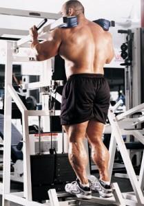 Подъемы на носки стоя. Тренировка икроножных мышц. Бодибилдинг