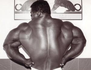Виктор Ричардс, big lats, широчайшие мышцы спины, бодибилдинг, Victor Richards