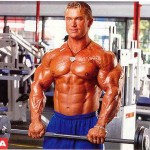 Подъемы на бицепс обратным хватом, тренировка мышц предплечий и бицепсов, Ли Прист, бодибилдинг