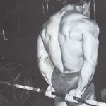 Тренировка предплечий, сгибание запястий за спиной со штангой, сильный хват, бодибилдинг