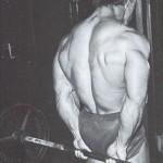 Тренировка мышц предплечий, сгибание кистей за спиной со штангой, тренировка хвта