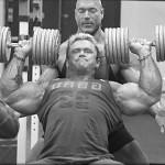 Ли Прист, жим гантелей на наклонной скамье, тренировка верхней части грудных мышц, бодибилдинг