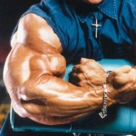 Ли Прист, предплечье 45 см, Lee Priest bodybuilding