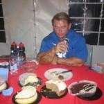 Ли Прист, диета бодибилдера