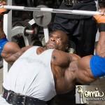 Ронни Колеман, Жим штанги лежа, тренировка грудных мышц, бодибилдинг