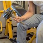 Боковые сгибания запястий, тренировка мышц предплечий