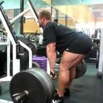 Тод Джевел, становая тяга на прямых ногах 495 фунтов, бодибилдинг, виды становой тяги