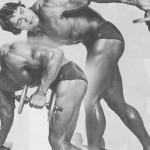 Арнольд Шварценеггер, Разгибания руки в наклоне, тренировка трицепсов, бодибилинг, упражнения для трицепсов