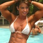 Карен Заремба, бодибилдинг для девушек, мускулистая девушка, культуристка, бодибилдерша