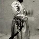 Серьезный представитель Таджикистана