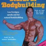 Чет Йортон на обложке своего журнала о натуральном бодибилдинге