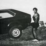 Франко Колумбу, при отсутствии спортинвентаря настоящие атлеты используют подручные средства. Становая тяга автомобиля