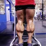 Тренировка мышц голени, большие мощные икры