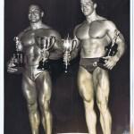 Арнольд Шварценеггер и Билл Перл, 1967 год, мистер вселенная
