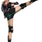 Резиновые жгуты для тренировки мышц в виде костюма