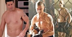 Мэттью Фокс, отличный пример спортивной сушки. Злодей из фильма Я, Алекс Кросс, скуинул около 20 кг жира для роли