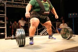 Джефф Льюис, самый жирный пауэрлифтер